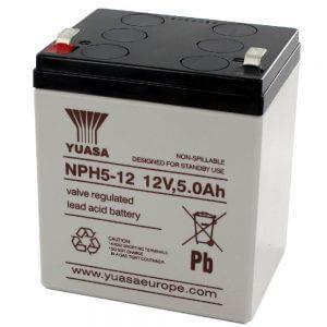 Yuasa NPH5-12 UPS Battery