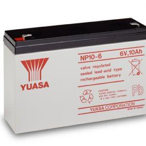 Yuasa NP10-6 UPS Battery