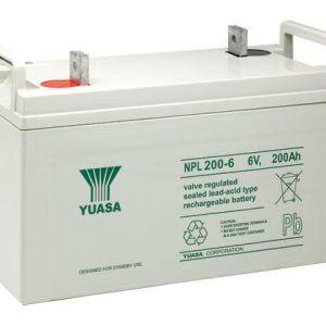 Yuasa NPL200-6 UPS Battery
