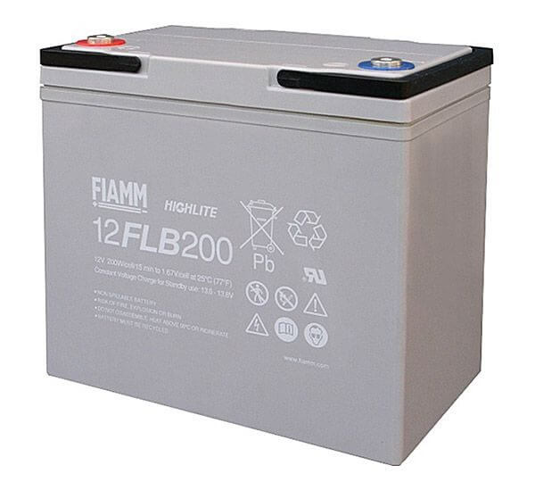 Fiamm 12FLB200 UPS Battery