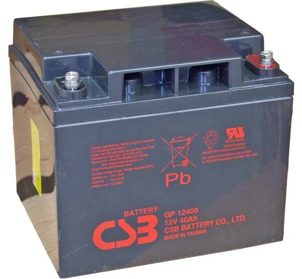 CSB GP12400 UPS Battery