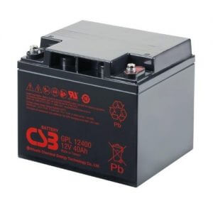CSB GPL12400 UPS Battery