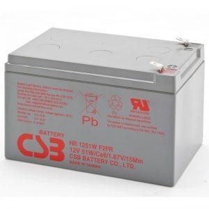 CSB HR1251W UPS Battery