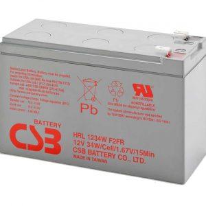 CSB HRL1234W UPS Battery