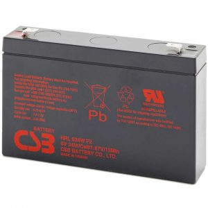 CSB HRL634W UPS Battery