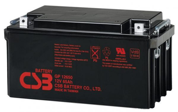 CSB GP12650 UPS Battery